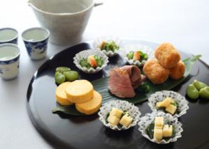 和食でおしゃれな盛り付け ワンプレート