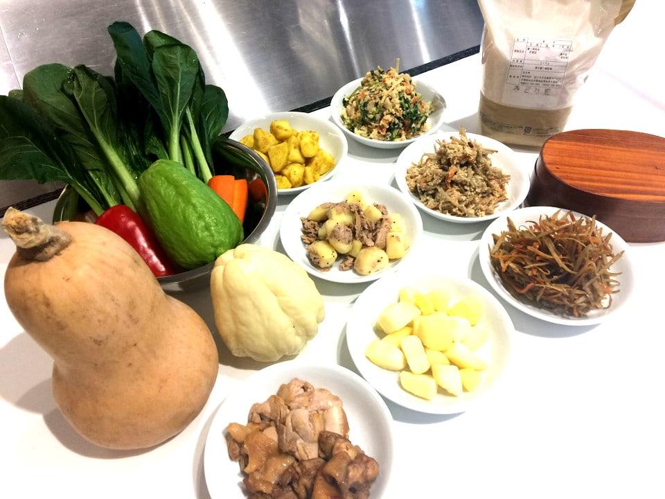 野菜をまるごと使った作り置きをマスターできる料理教室