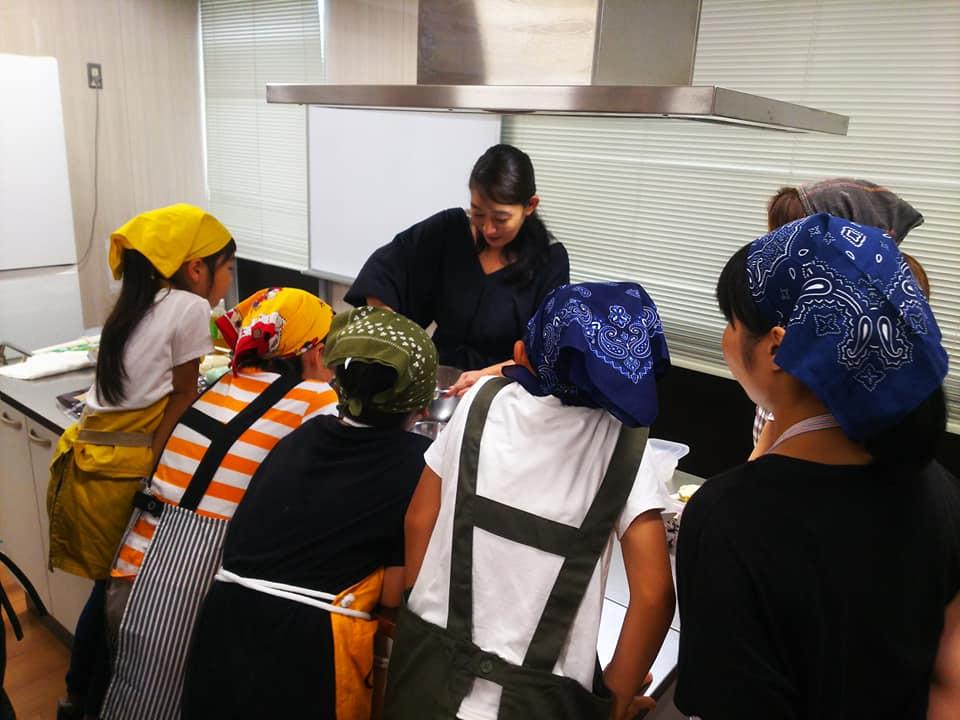 夏休み親子和菓子体験教室